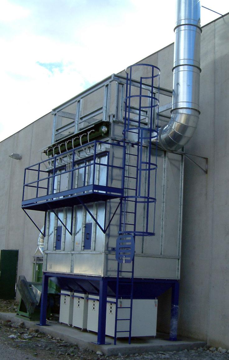 Aspirazione polveri impianti aspirazione aria nella for Ccnl legno e arredamento piccola e media industria